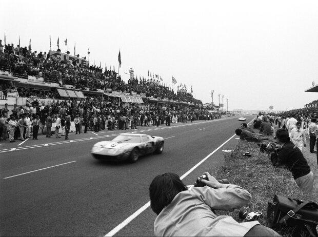 Le-Mans-Sieger 1969: Jacky Ickx, Jackie Oliver, Ford GT40