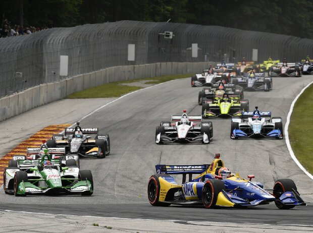IndyCar-Action in Elkhart Lake 2019
