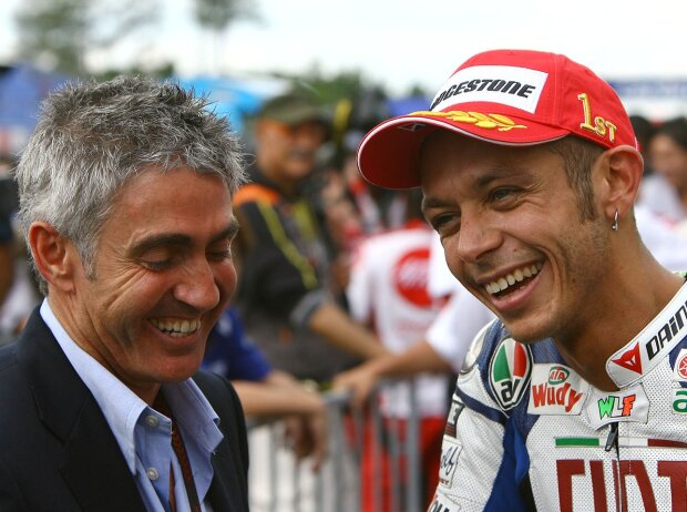 Mick Doohan, Valentino Rossi 2008
