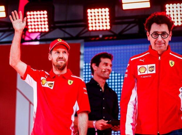 Sebastian Vettel, Mattia Binotto