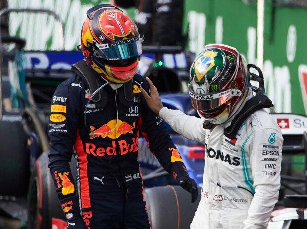 Lewis Hamilton, Alexander Albon