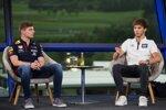 Max Verstappen (Red Bull) und Pierre Gasly (AlphaTauri)