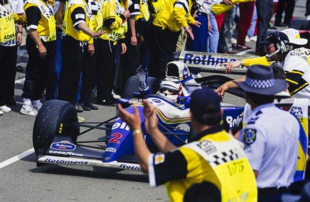 Nigel Mansell Williams Williams F1Renault Renault F1 ~Nigel Mansell ~