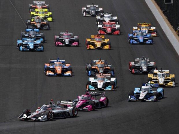 Start zum Grand Prix von Indianapolis 2020