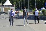 Martin Brundle und Jenson Button
