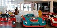 """""""Big Bangers"""" Sonderausstellung, Enthüllung Porsche 917-30"""