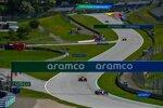 Lance Stroll (Racing Point) und Carlos Sainz (McLaren)
