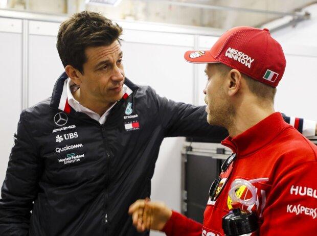 Toto Wolff, Sebastian Vettel