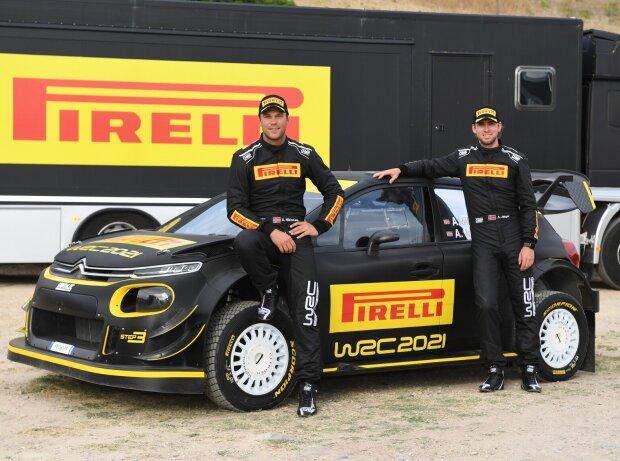 Andreas Mikkelsen, Anders Jaeger, Pirelli-Testauto