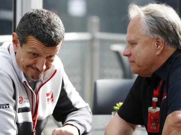 Günther Steiner und Gene Haas