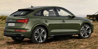 2021 Audi Q5 Sportback Rendering basierend auf dem Q5 Facelift