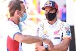 Alberto Puig und Marc Marquez (Honda)