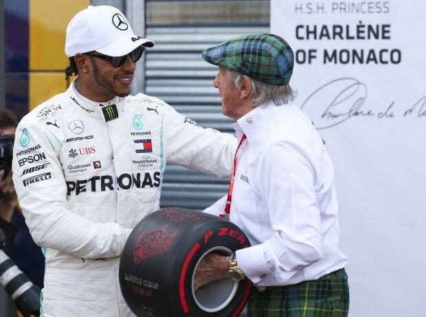 Lewis Hamilton, Jackie Stewart