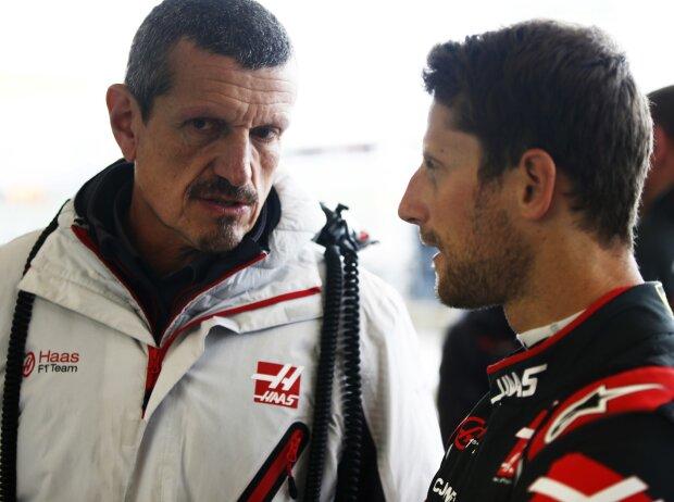 Günther Steiner, Romain Grosjean