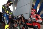 Valentino Rossi und Danilo Petrucci (Ducati)