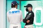 Lance Stroll (Racing Point) und Valtteri Bottas (Mercedes)