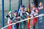 Fabio Quartararo (Petronas), Maverick Vinales (Yamaha) und Andrea Dovizioso (Ducati)