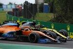 Esteban Ocon (Renault) und Lando Norris (McLaren)