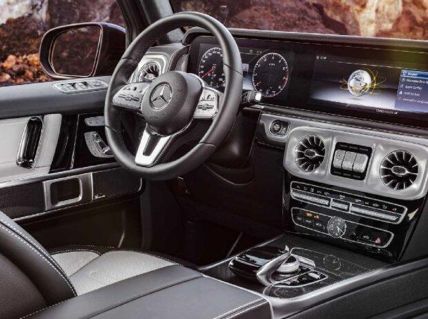 Mercedes G-Klasse-Cockpit (Dezember 2017)