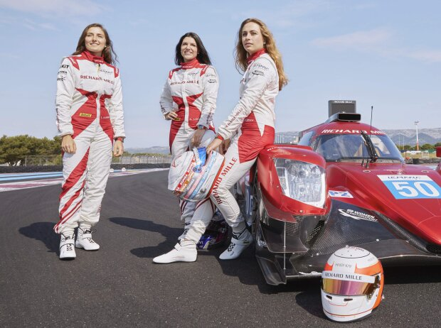 Tatiana Calderon, Katherine Legge, Sophia Flörsch
