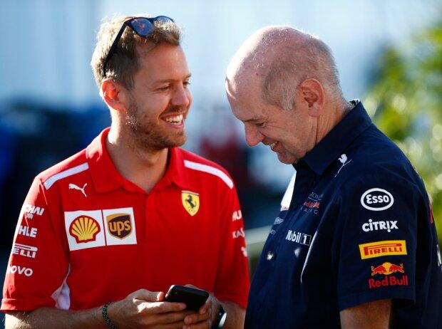 Sebastian Vettel, Adrian Newey