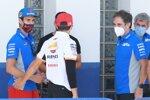 Alex Rins (Suzuki) und Marc Marquez (Honda)
