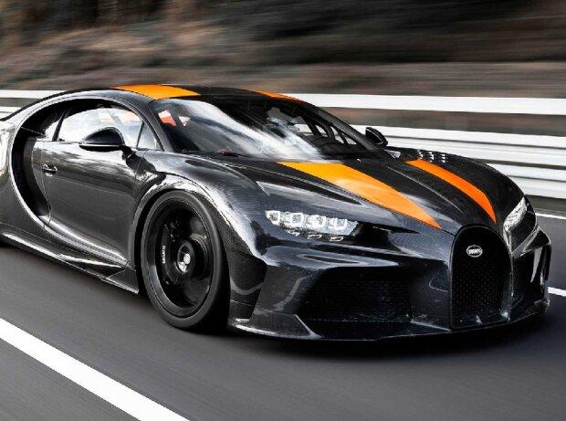 Bugatti Chiron, il record