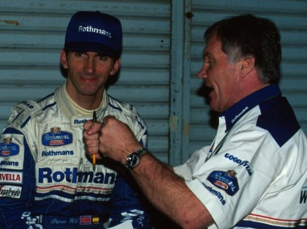 Damon Hill und Patrick Head
