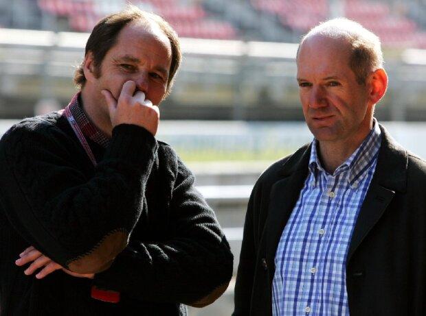 Adrian Newey, Gerhard Berger