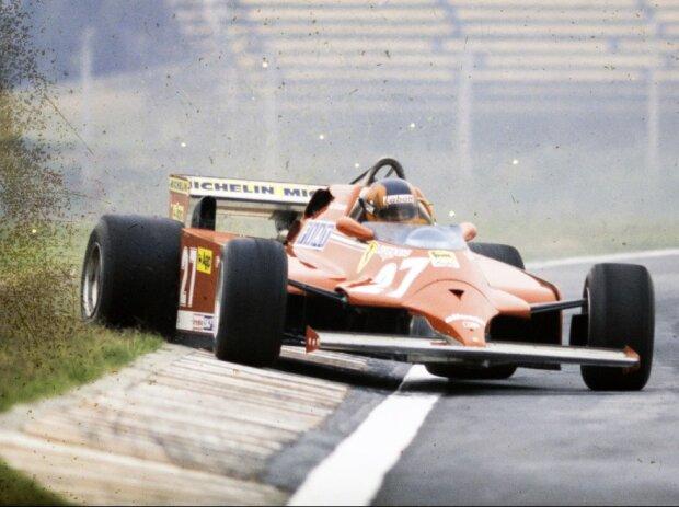 Gilles Villeneuve, Ferrari, 1981