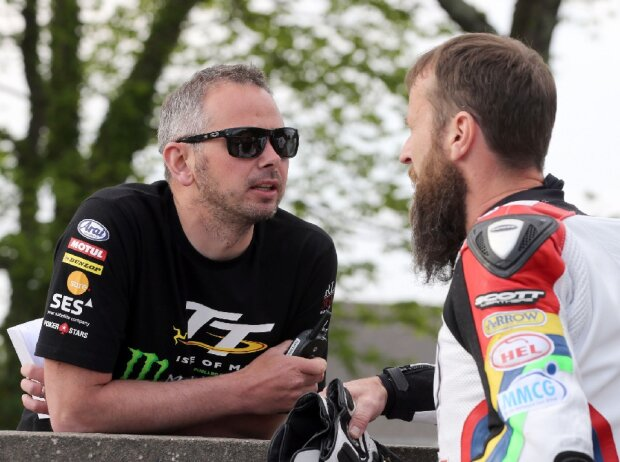 Paul Phillips and Bruce Anstey