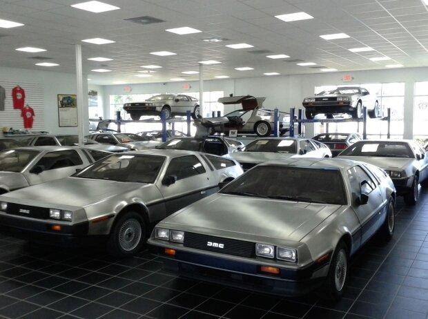 Gulf Coast Motorworks Florida DeLorean Sammlung