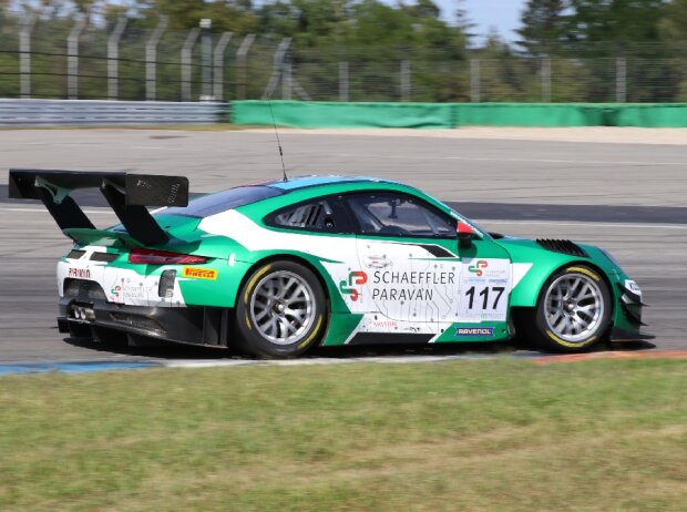 Porsche 911 GT3 R mit Steer-by-Wire
