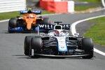 George Russell (Williams) und Lando Norris (McLaren)