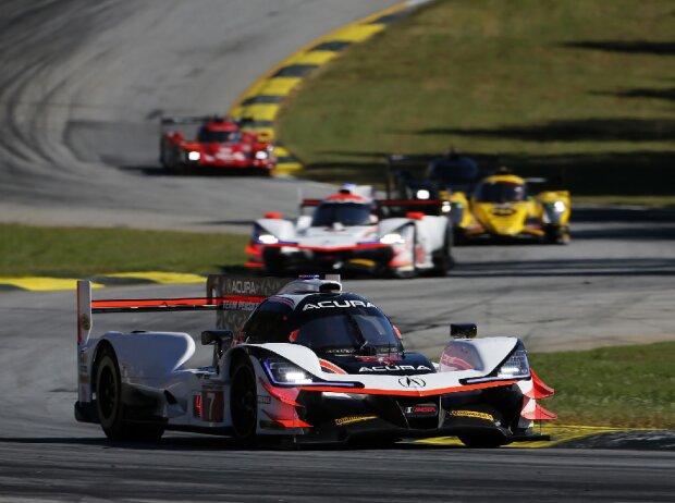 IMSA-Action beim Petit Le Mans auf der Rennstrecke Road Atlanta