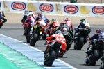 Start von Lauf eins in Jerez