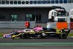 Esteban Ocon (Renault) und Lance Stroll (Racing Point)