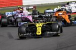 Daniel Ricciardo (Renault), Lando Norris (McLaren), Lance Stroll (Racing Point) und Sebastian Vettel (Ferrari)