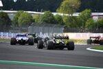 Lance Stroll (Racing Point) und Esteban Ocon (Renault)