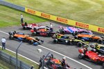 Max Verstappen (Red Bull), Charles Leclerc (Ferrari), Daniel Ricciardo (Renault), Esteban Ocon (Renault), Lando Norris (McLaren), Lance Stroll (Racing Point), Carlos Sainz (McLaren), Alexander Albon (Red Bull) und Antonio Giovinazzi (Alfa Romeo)