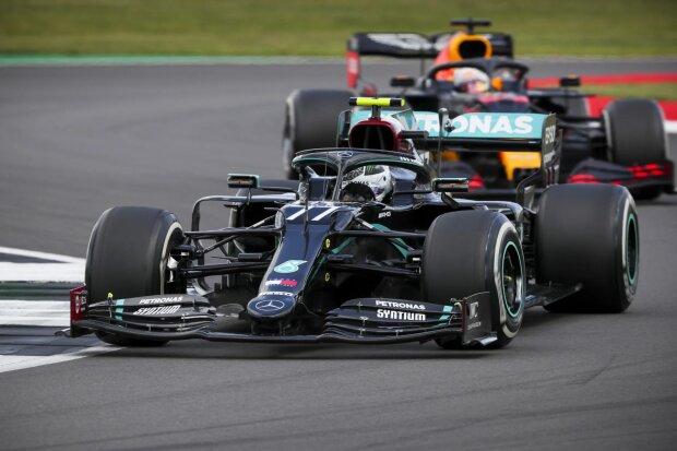 Valtteri Bottas Max Verstappen Red Bull Red Bull F1 ~Valtteri Bottas (Mercedes) und Max Verstappen (Red Bull) ~