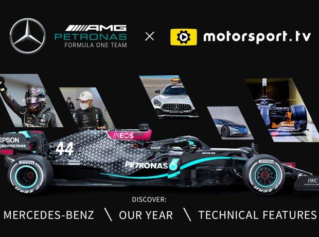 Mercedes-Kanal auf Motorsport.tv