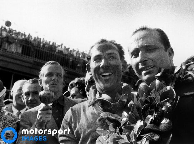 Stirling Moss, Juan Manuel Fangio