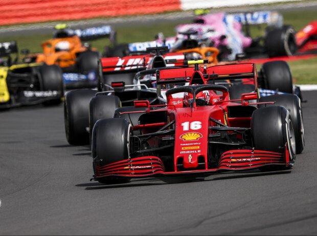 Charles Leclerc, Romain Grosjean, Daniel Ricciardo