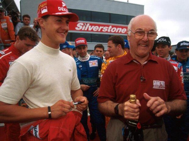 Michael Schumacher, Murray Walker