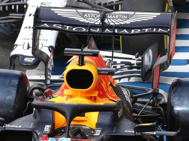 Red-Bull-Heckflügel für Silverstone 2
