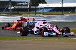 Nico Hülkenberg (Racing Point) und Sebastian Vettel (Ferrari)