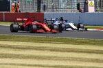 Sebastian Vettel (Ferrari) und Daniil Kwjat (AlphaTauri)