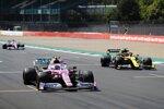 Lance Stroll (Racing Point), Esteban Ocon (Renault) und Nico Hülkenberg (Racing Point)