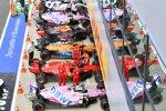 Lance Stroll (Racing Point), Charles Leclerc (Ferrari), Lando Norris (McLaren), Max Verstappen (Red Bull), Nico Hülkenberg (Racing Point) und Pierre Gasly (AlphaTauri)
